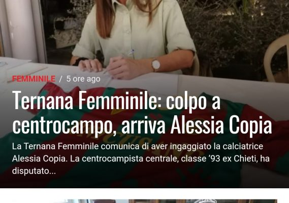Ternana Live – Testata giornalistica web Ternana Calcio 3